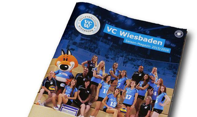 VCW gibt neues Saisonmagazin heraus: Sportjournalist Béla Réthy im Interview - Foto: VC Wiesbaden