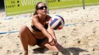 Westdeutsche Kronen Mixed Meisterschaft mit Beachvolleyball vom Feinsten Foto: p:e:w