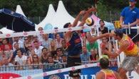 Bayerns beste Beachvolleyballer ermitteln auch 2020 ihren Meister in München. Zuschauer sind wegen Corona nicht zugelassen  Foto: Heinz Hesse