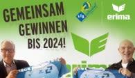 Unter dem Motto -Gemeinsam gewinnen- verlängern ERIMA und der VfB ihre Partnerschaft Foto: ERIMA