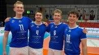 Verlassen den Bundesstützpunkt im Sommer (von links): Lennart Heckel, Pascal Zippel, Tom Fust und Linus Engelmann.  Foto: Gunthild Schulte-Hoppe