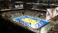 Zurück im Volleyballtempel Foto: Eckhard Herfet