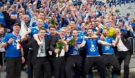 Für die Häfler feiert es sich mit den eigenen Fans am Schönsten Foto: Günter Kram