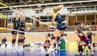 Gab ein tolles Debüt bei den Zweiliga-Volleyballerinnen vom Team DSHS SnowTrex Köln: Das erst 16-jährige Eigengewächs Viki Dörschug Foto: Martin Miseré
