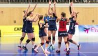 Wollen auch im hohen Norden eine gute Leistung zeigen: Die Zweitliga-Volleyballerinnen vom Team DSHS SnowTrex Köln Foto: Martin Miseré