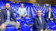 Thilo Späth-Westerholt, Simon Tischer, Peter Turkowski und Ralf Hoppe (von links) Bild: VfB