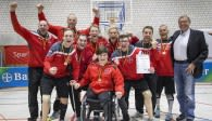Leverkusens Sitzvolleyballer gewinnen den Titel Foto: Beautiful Sports