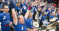 Die Fans kehren endlich in die Halle zurück Foto: Kram
