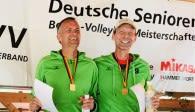Coole Überflieger: Deutsche Meister Ü53 - Zweimal Stefan (Brömmeling + Kann)  Foto: SG Rodheim