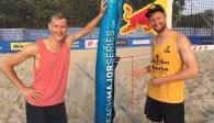 Rattenfänger Beach – Team in Moskau bei der Europameisterschaft und beim 4–Star Worldcup Foto: privat
