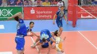 Friedrichshafen will auch im Rückspiel gegen Lüneburg nicht stolpern    Foto: Behns