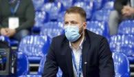 Thilo Späth-Westerholt beim Pokalaus gegen die United Volleys Frankfurt  Foto: Kram