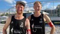 Beach-Nationalteam Bergmann / Harms gewinnt  Tour Stop der  German Beach Tour in Stuttgart Foto: Flo Treiber
