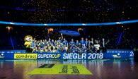 Welche Teams werden sich am Sonntag in der TUI Arena feiern lassen?  Foto: Sebastian Wells