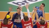 Die Häfler gewinnen ihr Achtefinale gegen die Heitec Volleys Eltmann Foto: Günter Kram