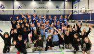 VC Allbau Essen schleicht mit fast perfektem Heimsieg in Richtung Aufstiegsspiele Foto: VC Allbau Essen