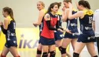 Freut sich auf das Spiel gegen den Meister vor heimischer Kulisse: Das Volleyballteam DSHS SnowTrex Köln Foto: Martin Miseré