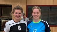 Als beste Spielerinnen ihrer Teams wurden Astrid Munkwitz (BVV) und Hanne Binkau (VTH) ausgezeichnet Foto: Lilly Faroß