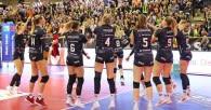 Ladies in Black gewinnen im Hexenkessel klar mit 3:0  Foto: Ladies in Black Aachen// Andreas Steindl