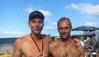 Netzhoppers Neuzugang mit überragender Leistung bei den Deutschen Beach-Volleyball- Meisterschaften Foto: Dirk Westphal, Netzhoppers