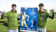 Rattenfänger Beach-Team  bei WM in Hamburg für Deutschland  dabei Foto: FiVB