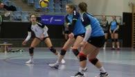 Hanne Binkau fokussiert den Ball Foto: VTH Lehmann