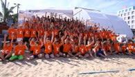 Start der großen Beach-Woche Foto: Eckhard Herfet