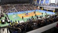 Ausverkauft wird die ZF Arena in der kommenden Saison wohl nicht sein Foto: Kram