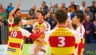 Mit einem Heimspiel starten die BADEN VOLLEYS SSC Karlsruhe in die neue Saison  Foto: Andreas Arndt