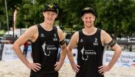 Rattenfänger Beach-Team bei der WM in Hamburg für Deutschland dabei! Foto: : HochZwei/Malte Christiansen
