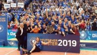 Der deutsche Meister 2019 in der Volleyball Bundesliga der Frauen: Allianz MTV Stuttgart  Foto: VBL