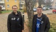 Freunde und wieder Mannschaftskollegen - Joe Worsley (links) und Avery Aylsworth Foto: VfB