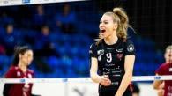 Dalia-Lilly Topic, schwedische Mittelblockerin, verstärkt in der bevorstehenden Saison den VCW Foto: Robert Boman