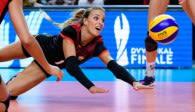 Lenka Dürr hat ihren Rücktritt aus der Nationalmannschaft bekannt gegeben Foto: Conny Kurth / DVV