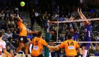 Russischer Meister zu Gast im Volleyballtempel  Foto: Eckhard Herfet
