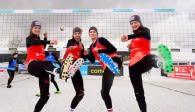 Kick ins Halbfinale Foto: Conny Kurth