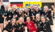 Deutscher Meister U18 weiblich – der Dresdner SC  Foto: Georg Kunz