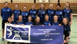 VC Essen-Borbeck - Sie möchten gute Gastgeber sein, die U20 des VC Essen-Borbeck