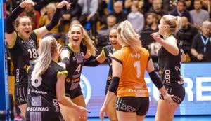 Aachen gewinnt deutlich mit 3:0 (25:21,20,18)