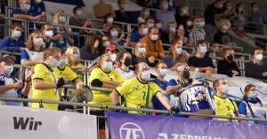 Über 1400 Zuschauer waren am Samstag in der ratiopharm arena Ulm/Neu-Ulm