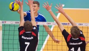 YoungStar Marco Frohberg bereitet sich in Berlin aufs Wochenende vor.