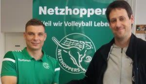 Netzhoppers verlängern mit Ratajczak für eine weitere Saison