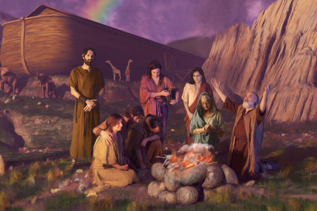 What was Noah's wife's name? | Bibleinfo com