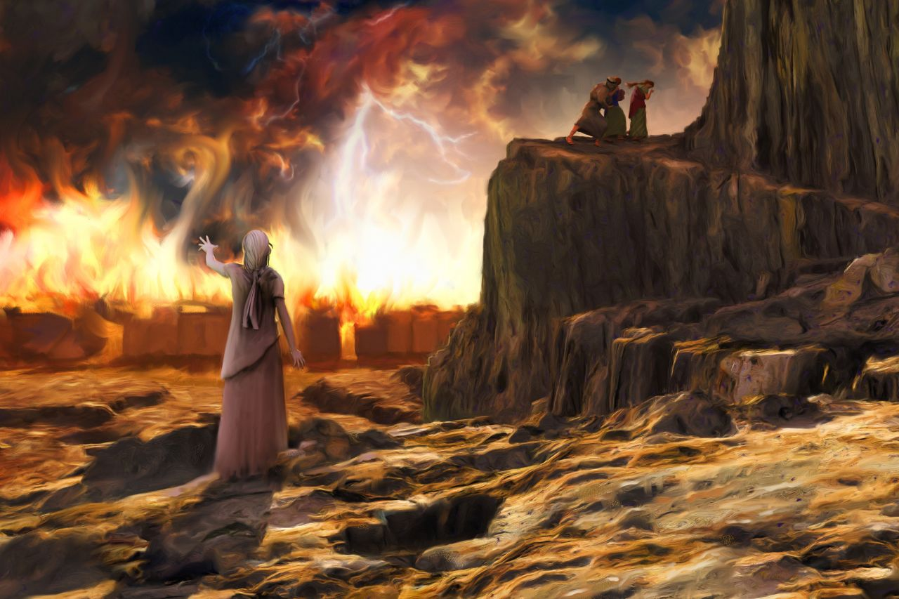 What was Lot's wife's name?   Bibleinfo com