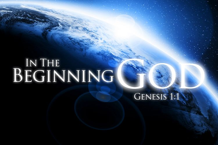 Image result for in the beginning God