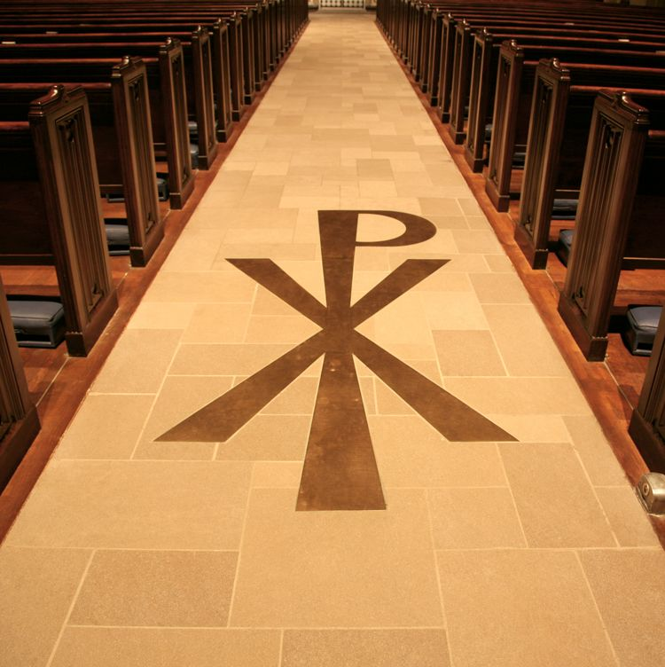 The Sign of the Cross (Chi-rho)