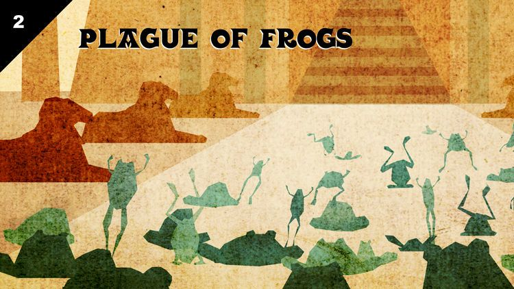 plagues frogs