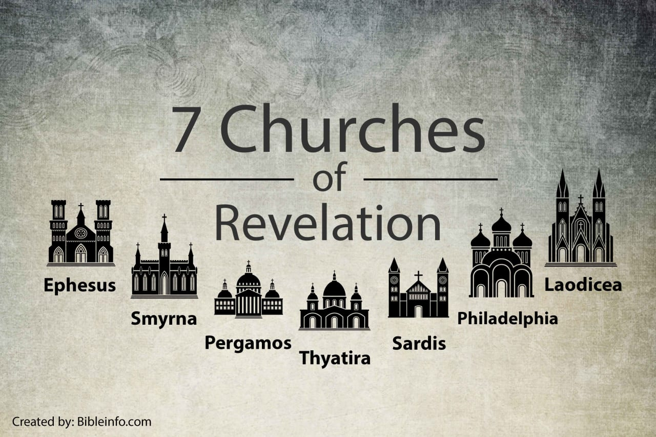 What are the 7 churches of Revelation?   Bibleinfo.com