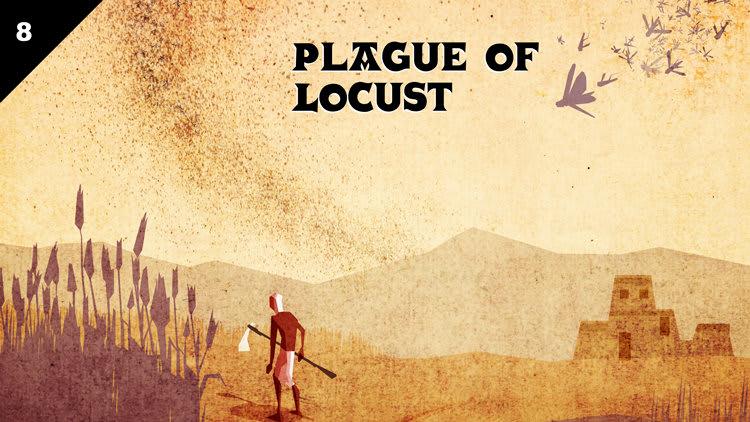 plagues locust