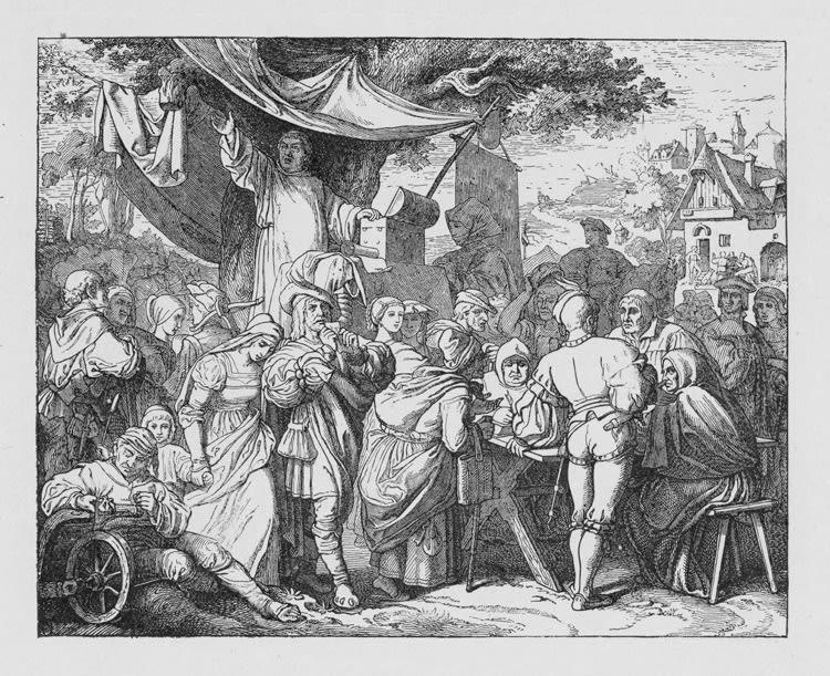 Luther, Tetzel and indulgences